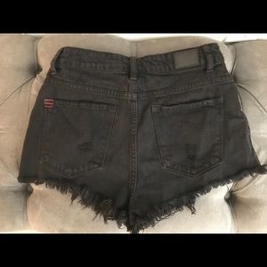Urban Outfitters Cheeky High Waisted Jean Shorts